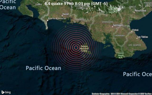 4.4 quake 9 Feb 8:03 pm (GMT -5)
