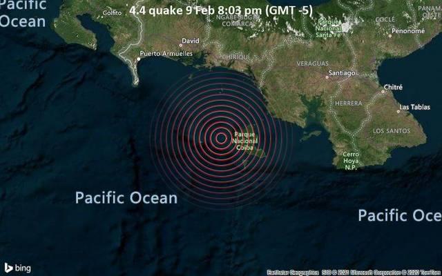 4.4 quake 9 Feb 8:03 pm (GMT -5)